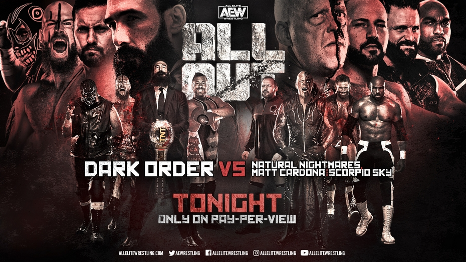 Dark Order vs. Matt Cardona, Scorpio Sky & Natural Nightmares