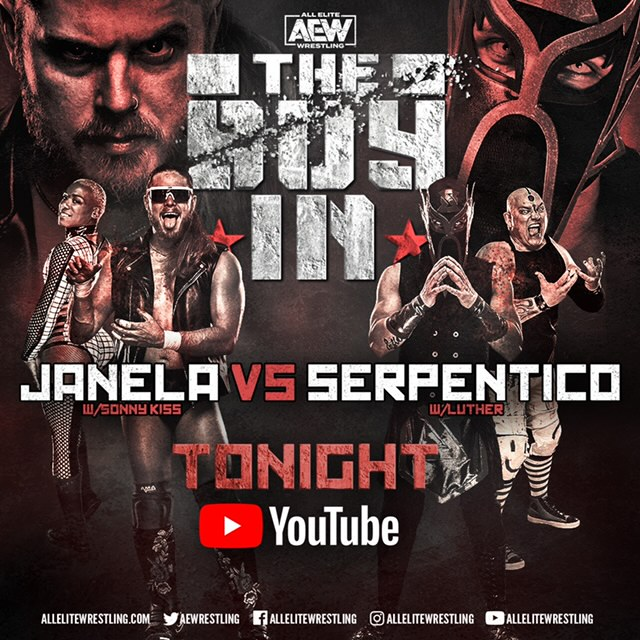Joey Janela vs. Serpentico